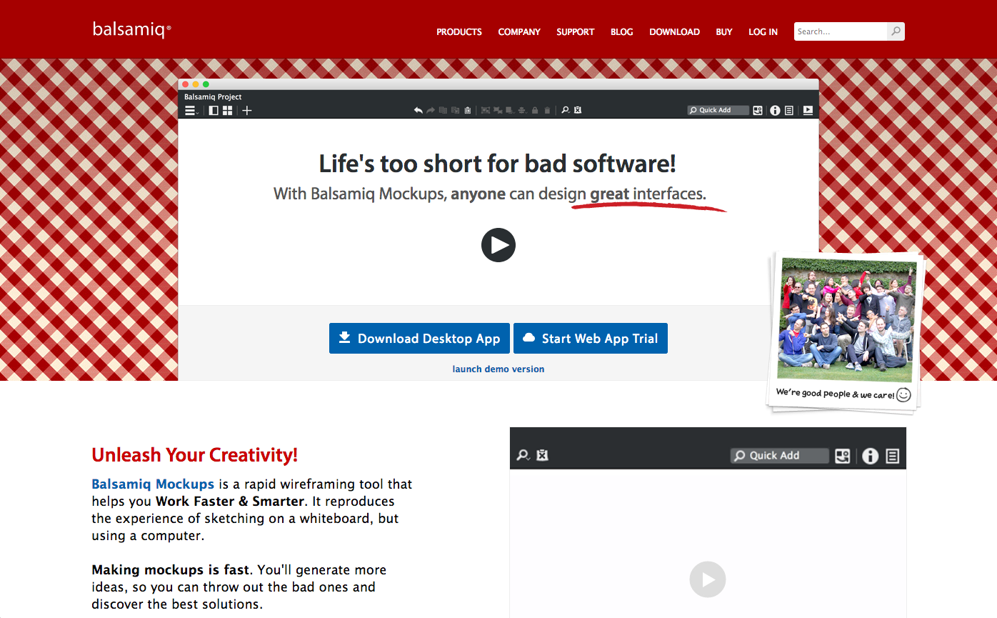 Balsamiq screencap