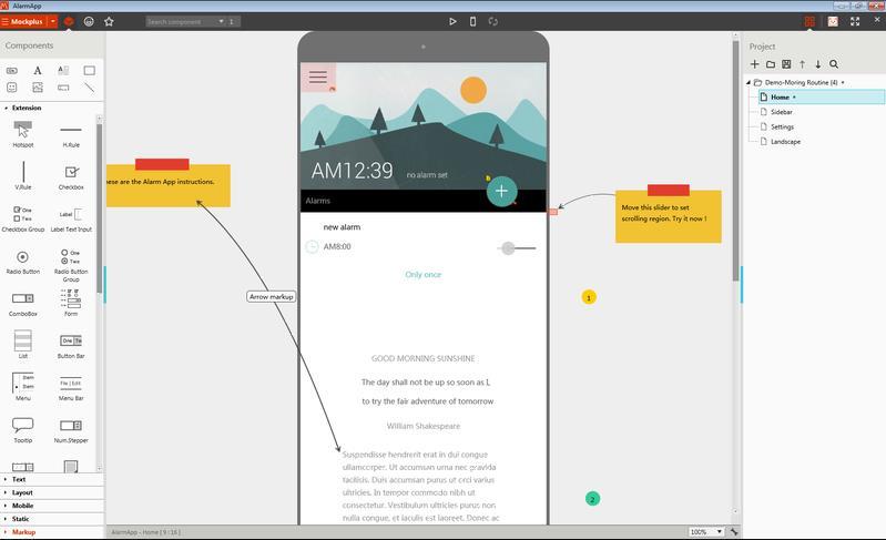 Mockplus App Example
