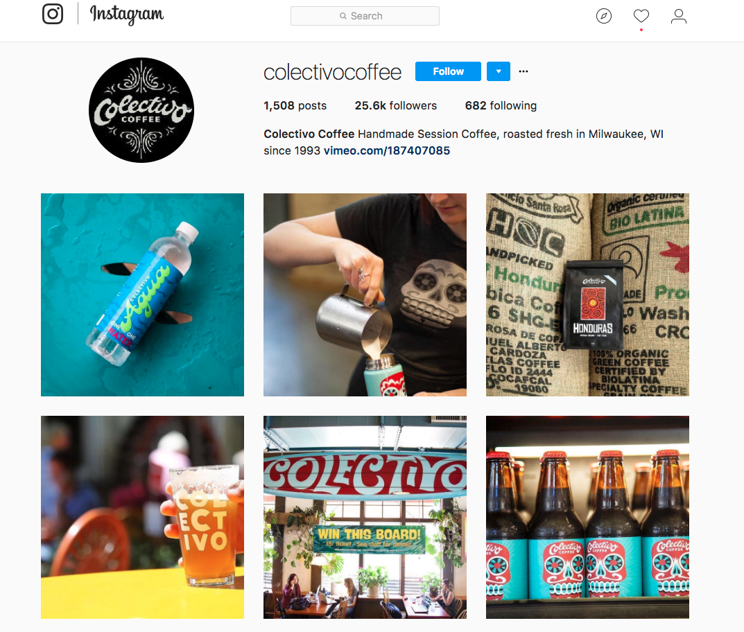 Collectivo Coffee Instagram