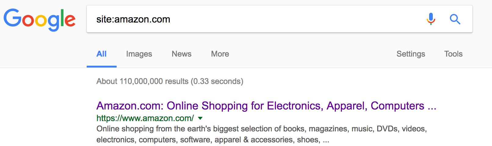 google site structure