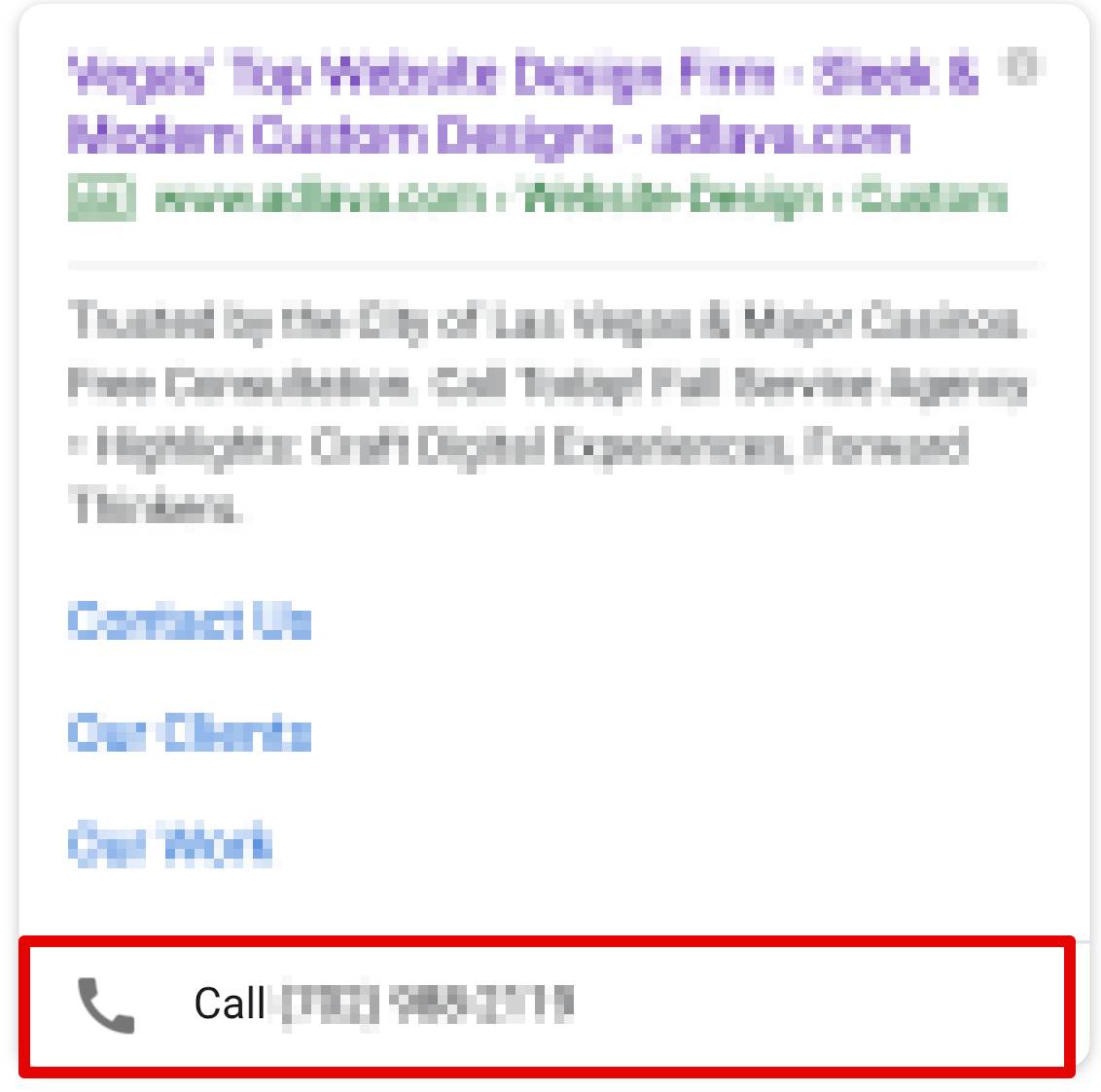 Call Tracking Example
