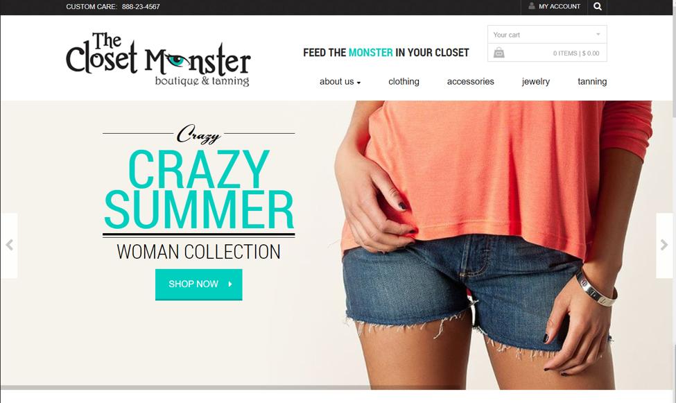 website closet monster