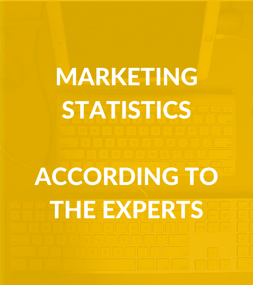 Marketing Statistics: According to the Experts