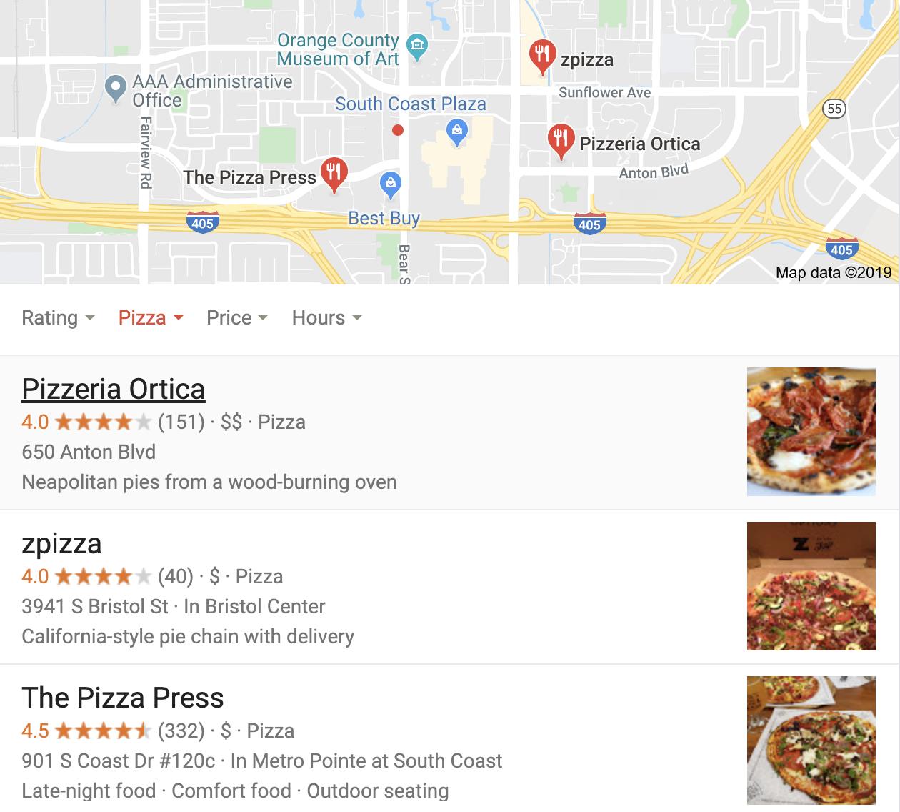 Local Map Pack Screenshot